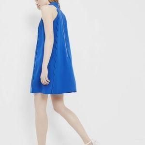 Ted Baker Torrii Halter Neck Scallop Tunic Dress